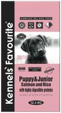 Puppy & Junior Salmon and Rice